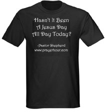 Prayer Hour t-shirt